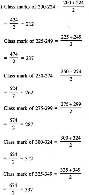 RD Sharma Class 9 Solutions Chapter 22 Tabular Representation of Statistical Data