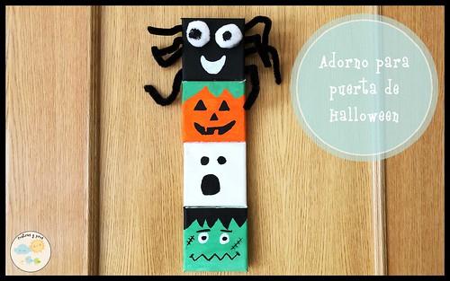 Adorno para puerta de Halloween