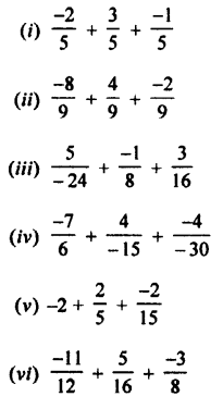Selina Concise Mathematics class 7 ICSE Solutions - Rational Numbers-c3
