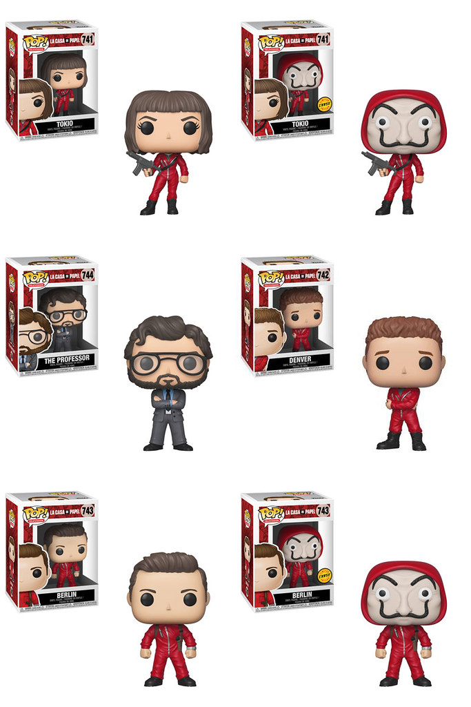 超狂搶劫計畫執行中?! Funko Pop! Vinyl《紙房子》Money Heist (La Casa De Papel) | 玩具人Toy People News