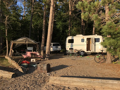 Lake Superior Park Campsite 2 dry camping