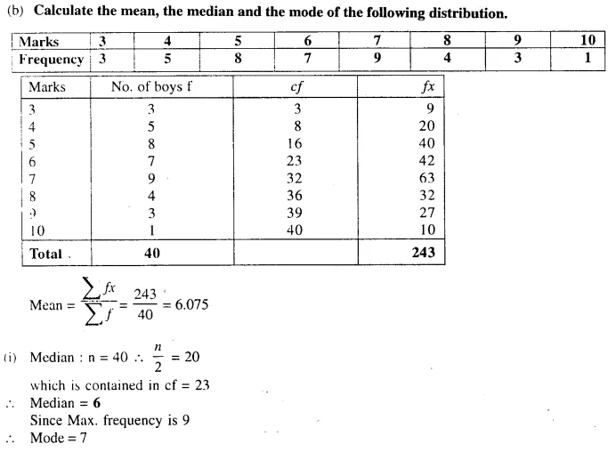 Selina Concise Mathematics Class 10 ICSE Solutions Chapterwise Revision Exercise 101b