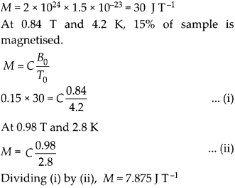 NCERT Solutions for Class 12 Physics Chapter 5 Magnetism and Matter 31