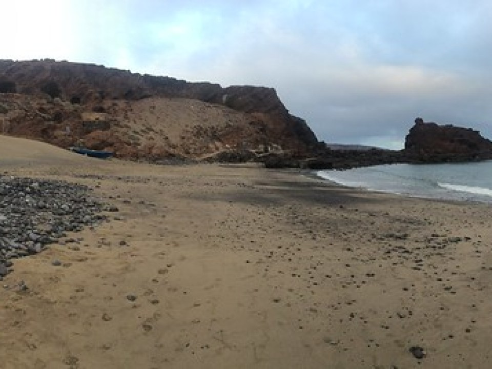Panoramica Playa El Burrero en el Municipio de Ingenio en la Isla de Gran Canaria 02