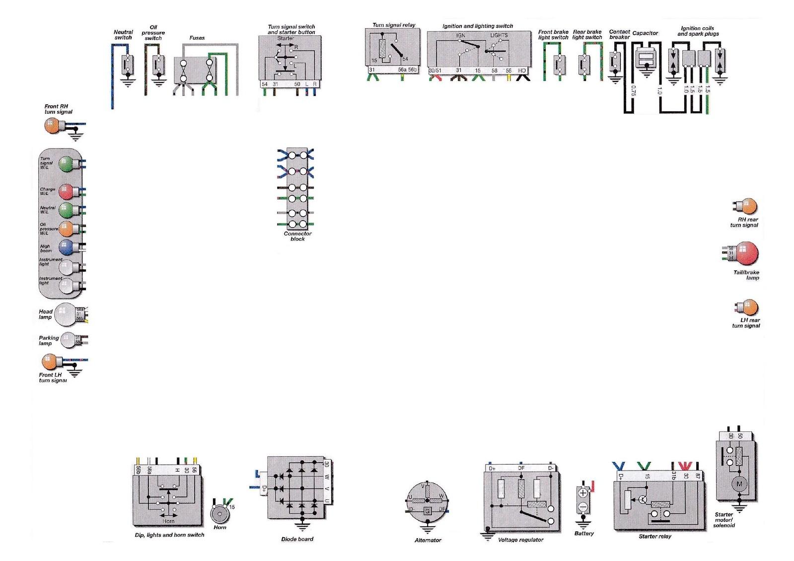 Sensational Wiring Diagram Bmw 650 Gs Bmw K100 Bmw 850 Gs Bmw F 700 Gs Bmw Wiring Digital Resources Hetepmognl