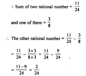 Selina Concise Mathematics class 7 ICSE Solutions - Rational Numbers-c7