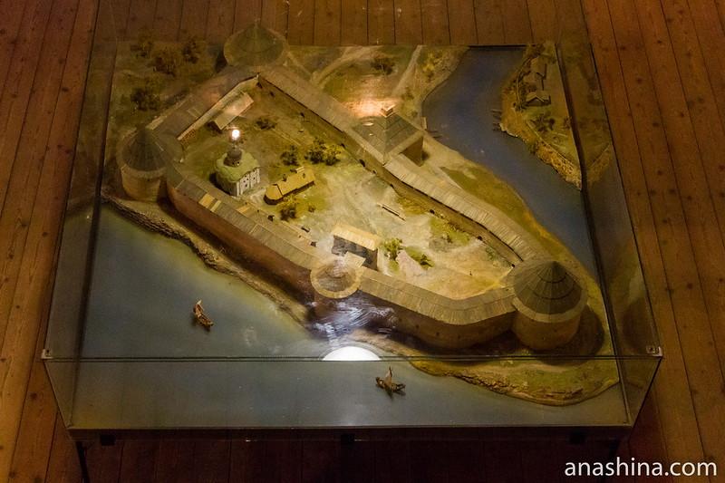 Ладожская крепость, реконструкция, Старая Ладога
