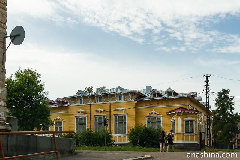 Бывшая городская усадьба доктора Винтера, ныне - музей Северного Приладожья, Сортавала, Карелия