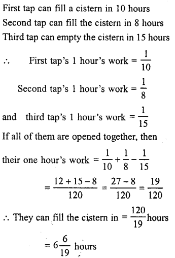 Selina Concise Mathematics class 7 ICSE Solutions - Unitary Method (Including Time and Work)-c6