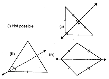 Selina Concise Mathematicsclass 6 ICSE Solutions - Revision Exercise Symmetry (Including Constructions on Symmetry)-3a