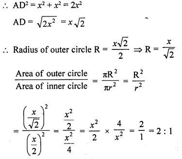 RD Sharma Class 10 Solutions Chapter 13 Areas Related to Circles VSAQS - 20a