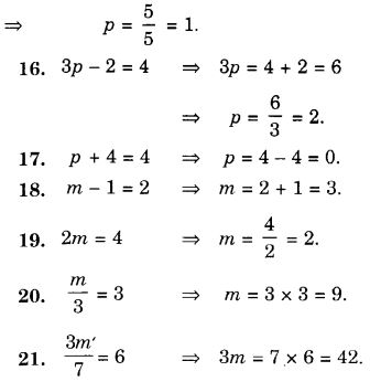 NCERT Solutions for Class 7 Maths Chapter 4 Simple Equations 52