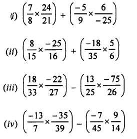 Selina Concise Mathematics class 7 ICSE Solutions - Rational Numbers-e8