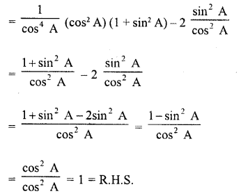 RD Sharma Class 10 Solutions Chapter 11 Trigonometric Identities Ex 11.1 - 73a