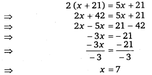 NCERT Solutions for Class 8 Maths Chapter 2 Linear Equations In One Variable 44