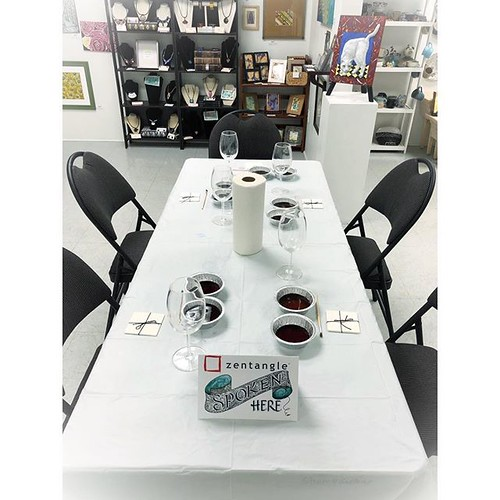 """Tangled Wine and Coffee"" class setup"