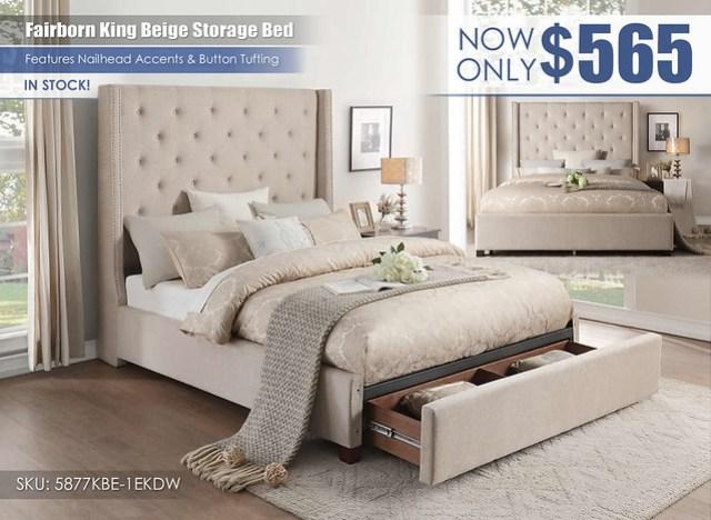 Fairborn King Beige Storage Bed_5877BE-1