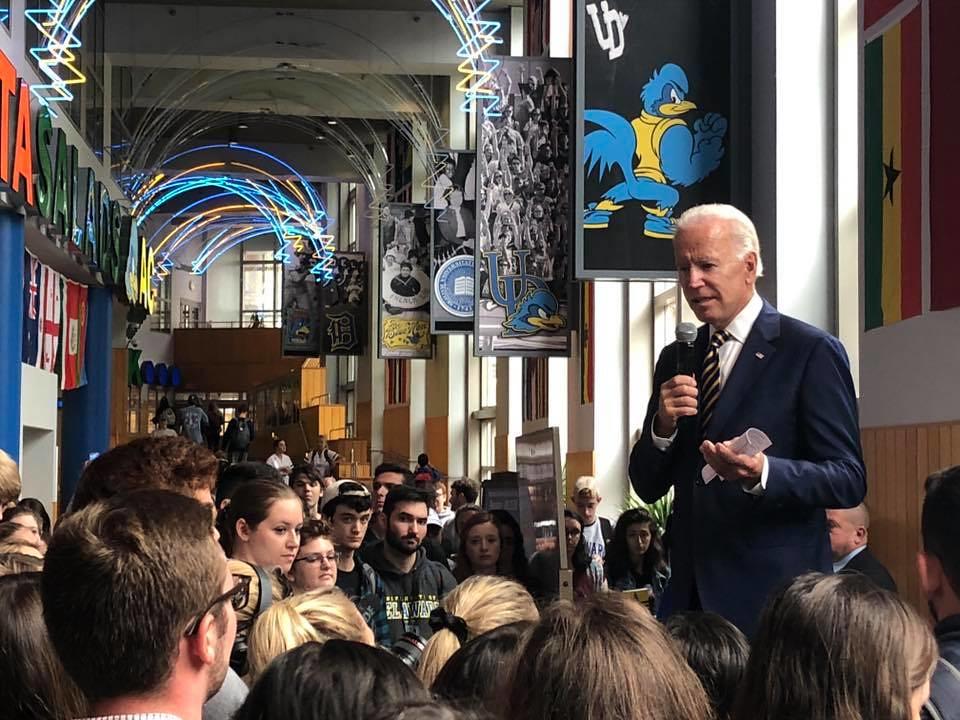 Biden Voting Event