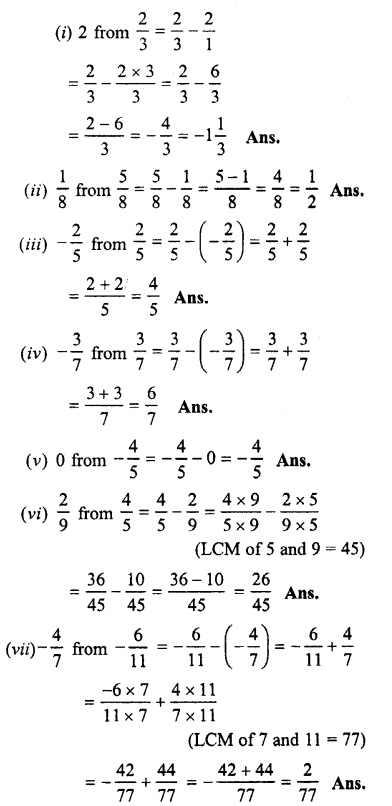 Selina Concise Maths class 7 ICSE Solutions - Fractions (Including Problems)-C3..