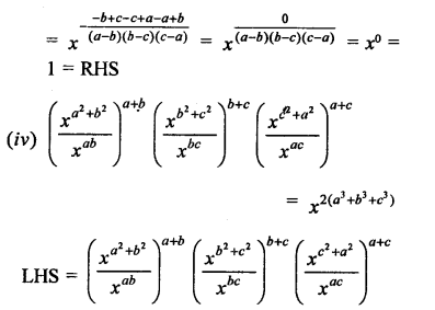 RD Sharma Class 9 Solutions Chapter 2 Exponents of Real Numbers Ex 2.2 - 4aaa.