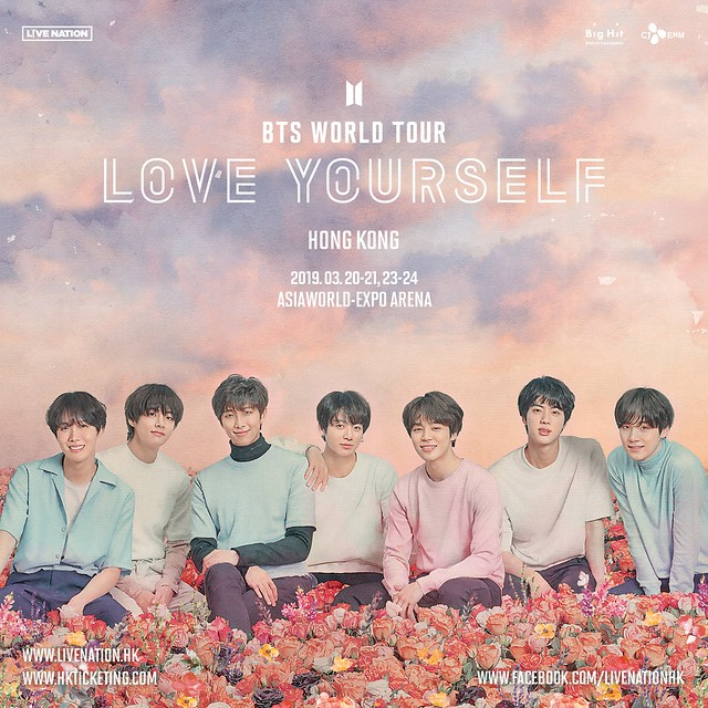 BTS LOVE YOURSELF IN HONG KONG