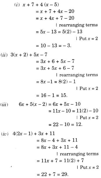 byjus class 7 maths Chapter 12 Algebraic Expressions 33