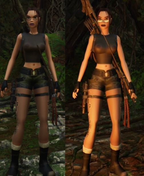 Shadow of the Tomb Raider Sheer Top