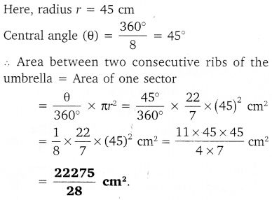 NCERT Solutions for Class 10 Maths Chapter 12 Areas Related to Circles 22