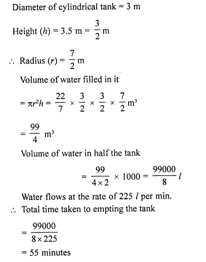 RD Sharma Class 10 Solutions Chapter 14 Surface Areas and Volumes Ex 14.1 52