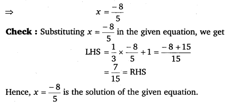 NCERT Solutions for Class 8 Maths Chapter 2 Linear Equations In One Variable 15