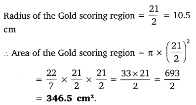 NCERT Solutions for Class 10 Maths Chapter 12 Areas Related to Circles 2
