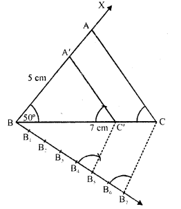 RD Sharma Class 10 Solutions Chapter 9 Constructions Ex 9.2 -2