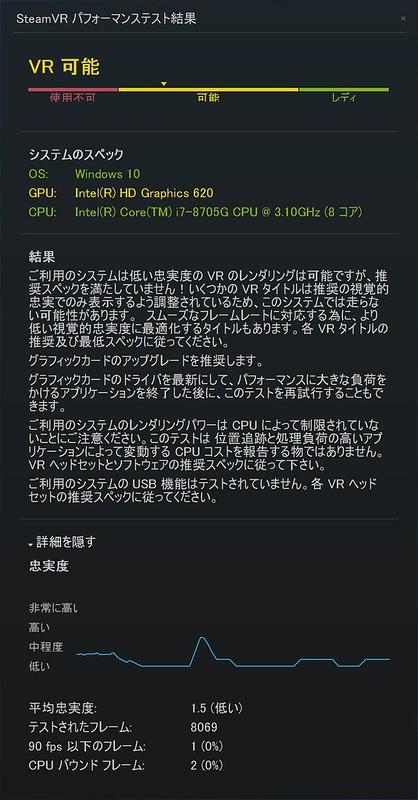 07_SteamVR パフォーマンステスト結果