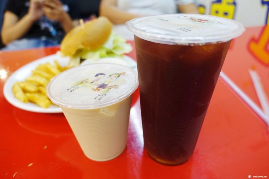 ㄚ布漢堡,婦女館,平價早餐,延平公園,桃園美食,漢堡,蛋餅 @VIVIYU小世界