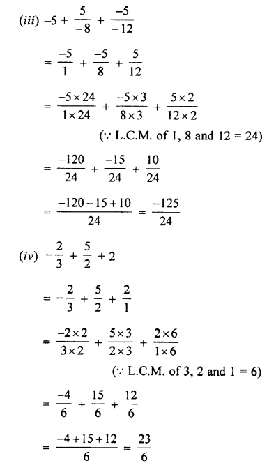 Selina Concise Mathematics class 7 ICSE Solutions - Rational Numbers-c4...
