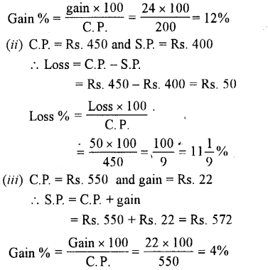 Selina Concise Mathematics class 7 ICSE Solutions - Profit, Loss and Discount-a1..