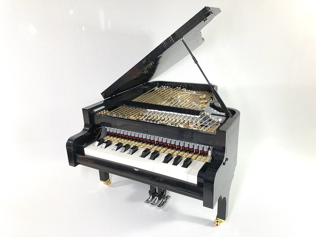 LEGO piano Power Functions