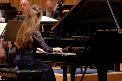 Alice Power i sitt extranummer Chopin