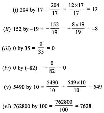 Selina Concise Maths class 7 ICSE Solutions - Integers-4b