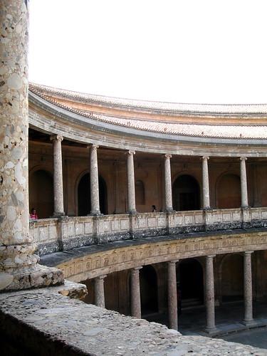 Patio interior del Palacio de Carlos V