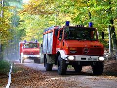 Waldbrandübung Kellerskopf 20.10.07
