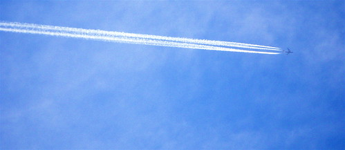Contrail and Blue