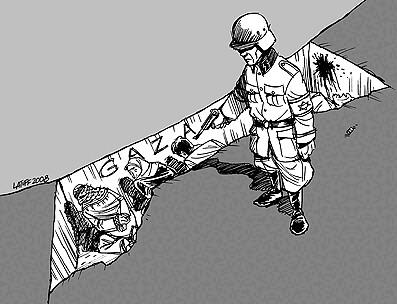 Latuff Gaza-strip