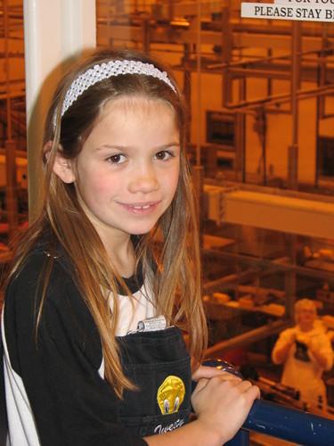 Liz at Tillamook Cheese Factory