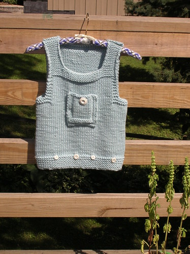 * What an adorable little vest!
