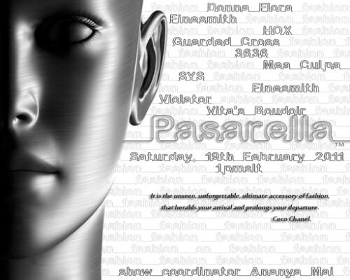 Pasarella Show - Saturday 19 January 2011 1pmslt