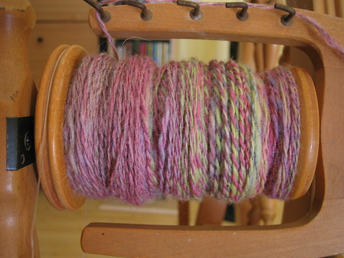 Cotton Candy - plied