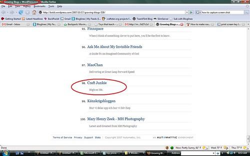 screenshot growing blogs