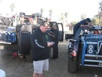 Me Twittering the Baja