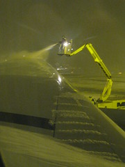 Defrosting the wing
